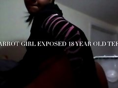 18 YEAR OLD EXPOSED AKA CARROTGIRL