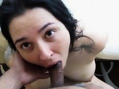 Dirty Spanish Sub Slut Deepthroats Part 1