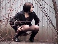 Girls Pissing voyeur video 30