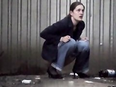 Girls Pissing voyeur video 142